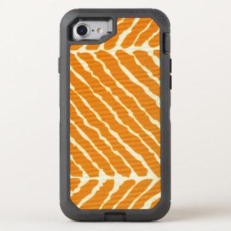 Orange Tiger-Streifen-Leinwand-Blick OtterBox Defender iPhone 8/7 Hülle