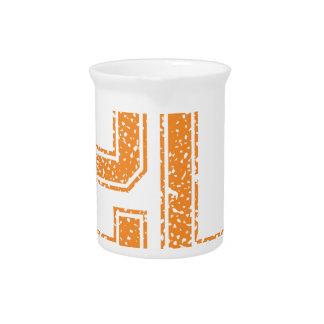 Orange trägt Jerzee Zahl 20.png zur Schau Getränke Pitcher