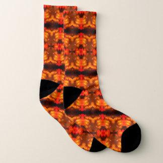 Orange Träume Socken