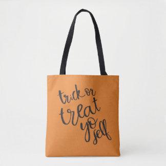 Orange Trick oder Leckerei yoself | Taschen-Tasche Tasche