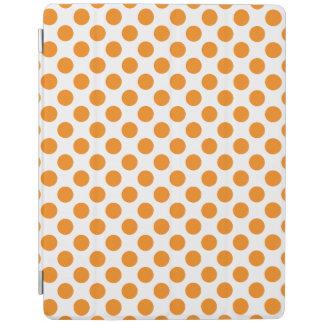 Orange Tupfen iPad Smart Cover