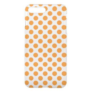 Orange Tupfen iPhone 8 Plus/7 Plus Hülle