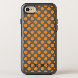 Orange Tupfen OtterBox Symmetry iPhone 8/7 Hülle