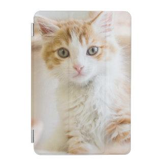 Orange u. weißes Kätzchen iPad Mini Cover