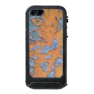 Orange und blaue Baumrinde Incipio ATLAS ID™ iPhone 5 Hülle