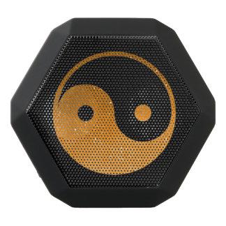 Orange und schwarzer Yin Yang Boombot REX Schwarze Bluetooth Lautsprecher