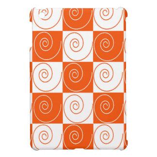 Orange und weiße MäuseSchwänze iPad Mini Hülle