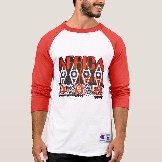 Orange Unisexspitze T-Shirt