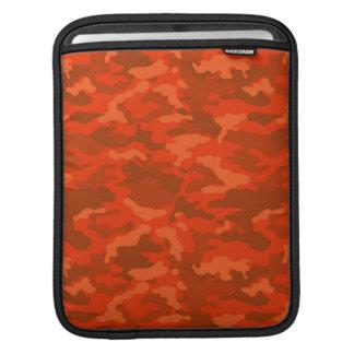 Orange Vintage Armee-MilitärCamouflage-Tarnung Sleeve Für iPads