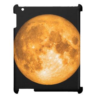 orange Vollmond iPad Hülle
