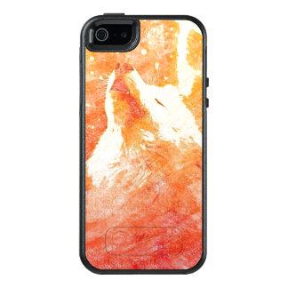 Orange Wolf iPhone SE/5/5s Otterbox Kasten OtterBox iPhone 5/5s/SE Hülle