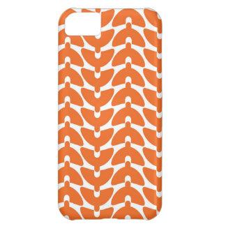 Orange Zerstampfung iPhone 5C Hülle