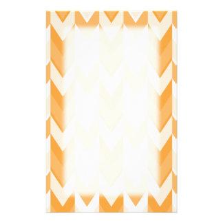 Orange Zickzack Muster Druckpapier