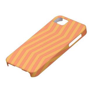 Orange Zickzack-Muster iPhone 5 Abdeckung Schutzhülle Fürs iPhone 5