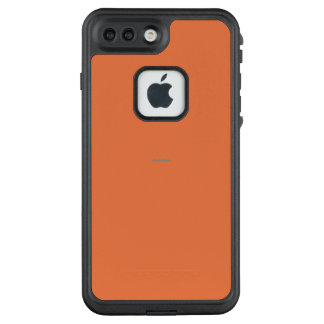 Oranged heraus lebhafte Haube LifeProof FRÄ' iPhone 8 Plus/7 Plus Hülle