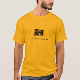 Orangefarbenes Unterhemd MADE in SMA