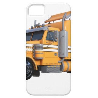 Orangen-halb Sattelzug Etui Fürs iPhone 5