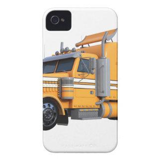 Orangen-halb Sattelzug iPhone 4 Cover