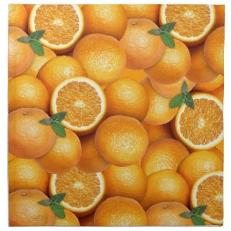 Orangen Serviette