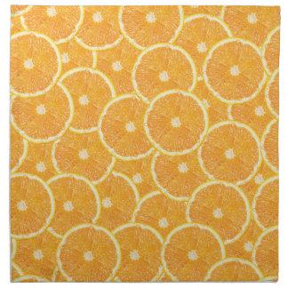 Orangen Stoffserviette
