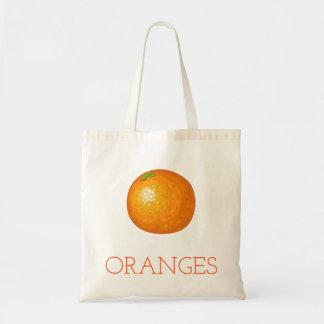 Orangen Tragetasche