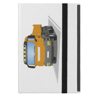 oranger Baustellen LKW Etui Fürs iPad Mini