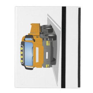 oranger Baustellen LKW Schutzhülle Fürs iPad