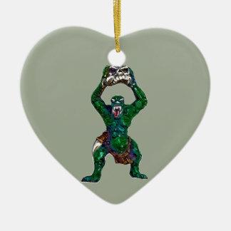 Orc Keramik Herz-Ornament