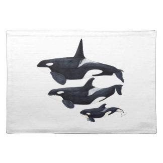 Orca Tischset