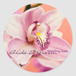 Orchid • Save the Date Sticker