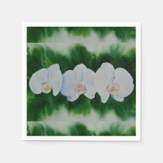 Orchidee 3 serviette