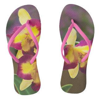 Orchidee drehen Reinfall um Flip Flops