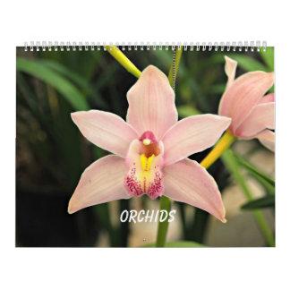 Orchideen Abreißkalender