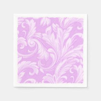 Orchideen-Blendungs-Damast Serviette