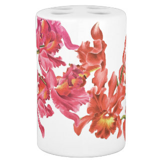 Orchideen-Blumen-Bad-Set Badset