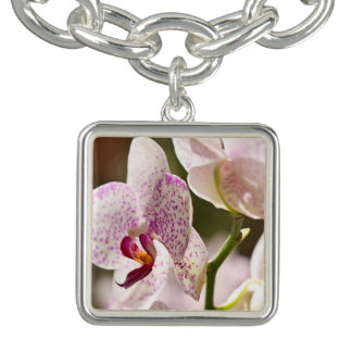 Orchideen durch Shirley Taylor Armband