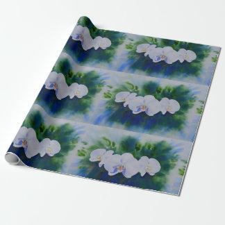 Orchideen-Explosion Geschenkpapier