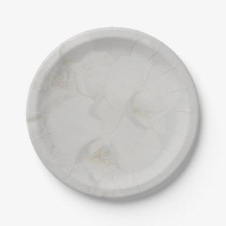 Orchideen-Hochzeits-Sammlungs-Papier-Teller Pappteller