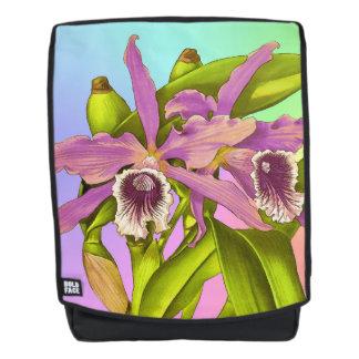 Orchideen-Pop Rucksack