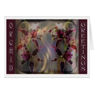 OrchidGreetings Grußkarte