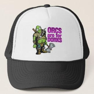 Orcs sind für Deppe Truckerkappe