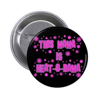 Ordentlicher-O-Rama Tag Mutter-Mutter Runder Button 5,7 Cm