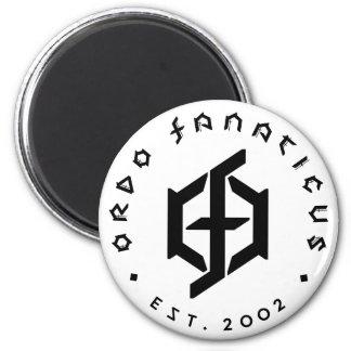 Ordo Fanaticus runde Magneten Runder Magnet 5,1 Cm
