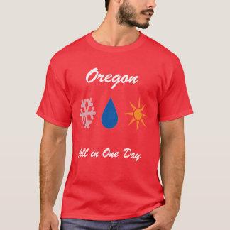 Oregon an einem Tag T-Shirt