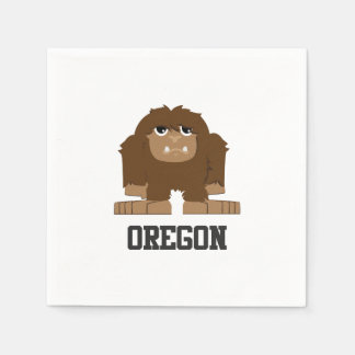 Oregon Bigfoot Serviette