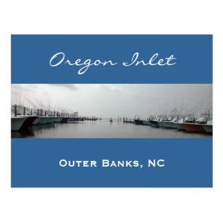 Oregon-Einlass Postkarte