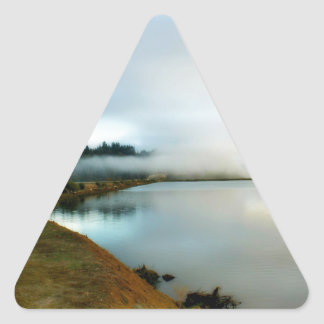 Oregon führt seine Schönheit vor Dreieckiger Aufkleber