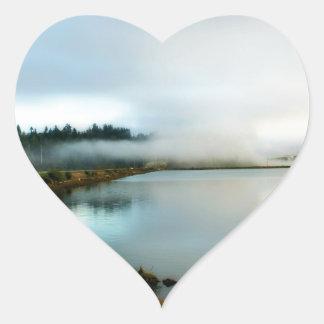 Oregon führt seine Schönheit vor Herz-Aufkleber