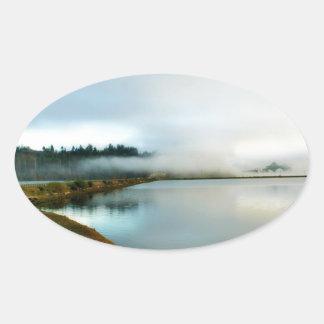 Oregon führt seine Schönheit vor Ovaler Aufkleber