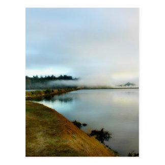 Oregon führt seine Schönheit vor Postkarte
